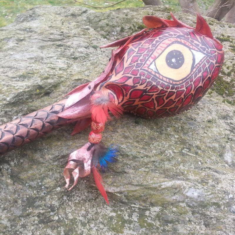 Drachenrasseln Magische Werkstatt Bild
