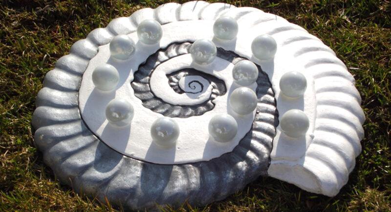 Ammonit Banner Magische Werkstatt Wurzelwege