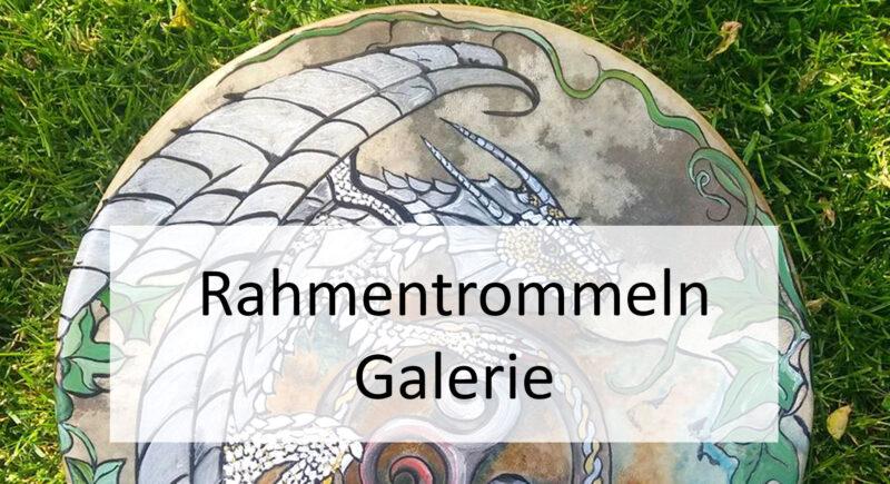 Banner Rahmentrommeln Galerie Wurzelwege