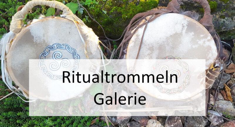 Banner Ritualtrommeln Galerie Wurzelwege